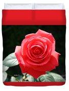 Gorgeous Rose Duvet Cover