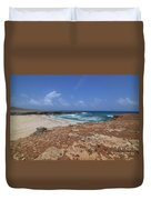 Gorgeous View Of Deserted Daimari Beach Duvet Cover