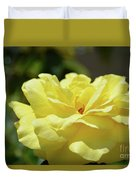 Gorgeous Yellow Rose Duvet Cover