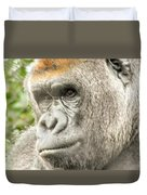 Gorilla - Como Zoo, St. Paul, Minnesota Duvet Cover