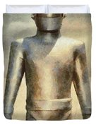 Gort From The Day The Earth Stood Still Duvet Cover