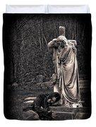 Goth At Heart - 3 Of 4 Duvet Cover by Scott  Wyatt