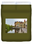 Gothenburg Canal And Park Duvet Cover