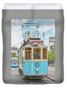 Gothenburg Liseberg Tram Duvet Cover