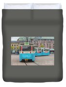 Gothenburg Public Tram Duvet Cover