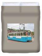 Gothenburg Tram Car Duvet Cover