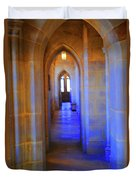 Gothic Arch Hall Duvet Cover