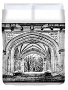 Gothic Architecture At Princeton University  Princeton New Jersey Duvet Cover