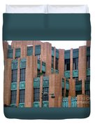 Gothic Architecture In Los Angeles Duvet Cover