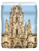 Gothic Cathedral In Havana Duvet Cover