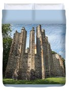 Gothic Cathedral Of Our Lady Duvet Cover