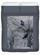 Gothic Gray Wash  Duvet Cover
