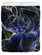 Gothic Iris Duvet Cover