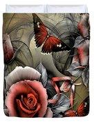 Gothic Roses Duvet Cover