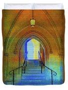 Gothic Steps Duvet Cover