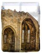 Gothic Temple Ruins - San Domingos Duvet Cover