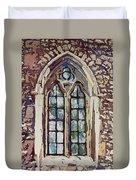 Gothic Window Duvet Cover