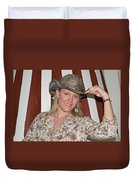Gotta Love That Hat Duvet Cover