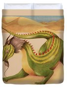 Gourd Dragon Duvet Cover