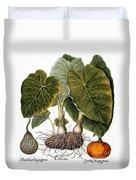 Gourd, Taro, & Pumpkin Duvet Cover