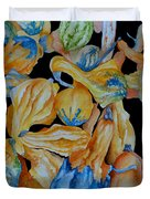 Gourds Galore Duvet Cover