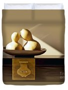 Gourds Still Life II Duvet Cover