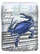 Gourmet Shellfish 1 Duvet Cover