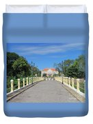 Governor Mansion In Battambang Cambodia Duvet Cover