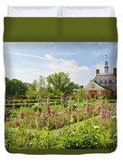 Governor's Ballroom Garden In The Spring Duvet Cover