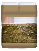 Governor's Palace Bluebird Duvet Cover