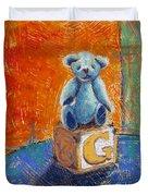 Gq Teddy Duvet Cover
