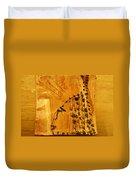 Grace Appears - Tile Duvet Cover