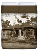 Grace H Dodge Chapel Auditorium Asilomar Circa 1925 Duvet Cover