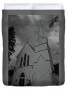 Grace In Black And White Duvet Cover