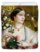 Grace Rose Duvet Cover by Anthony Frederick Augustus Sandys