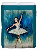 Graceful Dance Duvet Cover