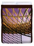 Graceful Grid Duvet Cover