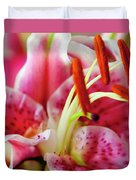 Graceful Lily Series 20 Duvet Cover