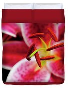 Graceful Lily Series 21 Duvet Cover