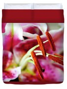 Graceful Lily Series 23 Duvet Cover