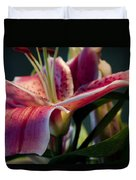 Graceful Lily Series 8 Duvet Cover
