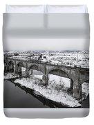 Graceful Waterways Duvet Cover