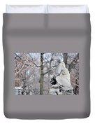 Graceland Cemetery Duvet Cover