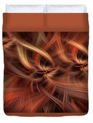 Graciousness. Mystery Of Colors Duvet Cover