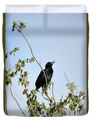 Grackle Cackle Duvet Cover
