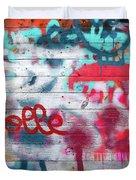 Graffiti 1 Duvet Cover