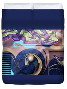 Graffiti 10 Duvet Cover