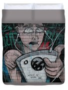 Graffiti 13 Duvet Cover