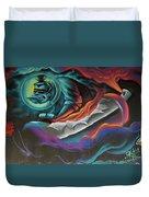 Graffiti 2 Duvet Cover