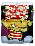 Graffiti 8 Duvet Cover